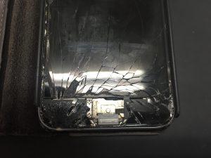 iPhone6画面、ホームボタン破損