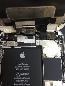 iPhone6s 上部