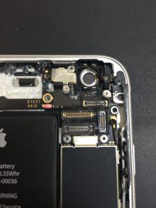 iPhone6s アウトカメラ脱着時