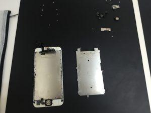 iPhone6s フロントパネル分解