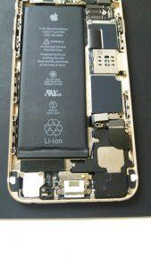 iPhone6ドッグコネクタ修理②