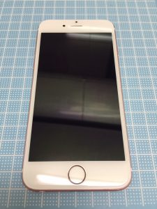 iPhone6s 画面修理後新品画面