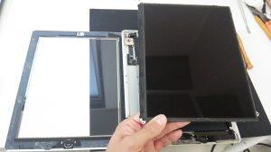 iPad2液晶取り外し後