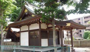 船橋市前貝塚町八幡神社