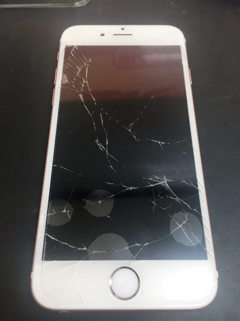 千葉県鎌ケ谷市よりiPhone6sのガラス交換でご来店です。