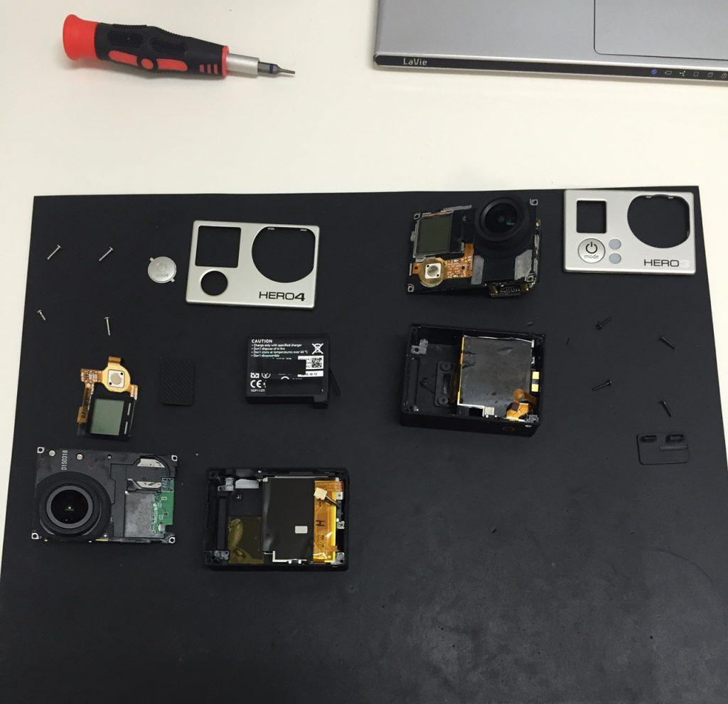 GoPro修理!郵送修理開始