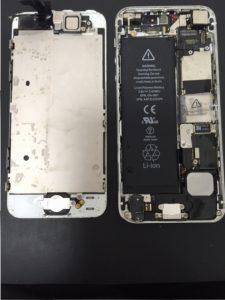 iPhone6水没②