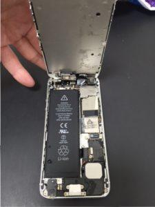iPhone6水没①