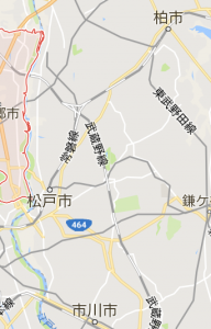 松戸市地図