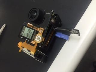 神奈川県横浜市からHERO4 シャッターボタン交換修理。GoPro修理
