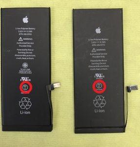 6Plusバッテリー