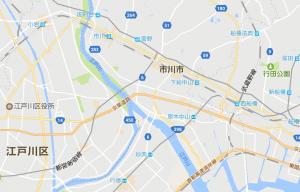 江戸川区地図
