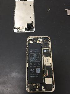 iPhone5s修理④