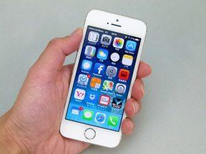 iPhone5s片手