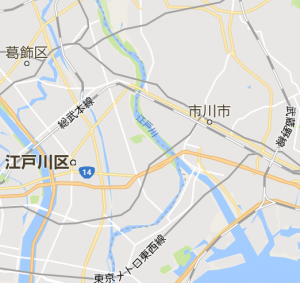 葛飾区地図
