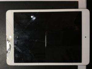 千葉県習志野市からのご来店、iPadmini(第1世代)ガラス交換です。 リペアくん柏店