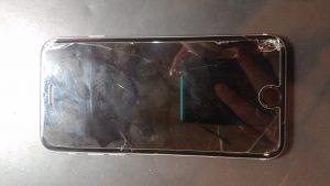 茨城県守谷市からのご来店、iPhone6s液晶交換です。 リペアくん柏店