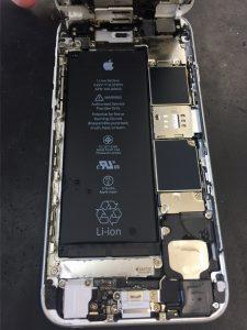 iPhone6水没➀