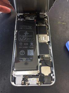 iPhone6水没④