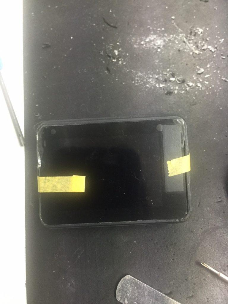 HERO5背面液晶割れ修理後
