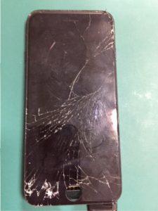 仙台市青葉区からのご来店、iPhone7のフロントガラス交換ですーiPhone修理のリペアくん/宮城仙台店