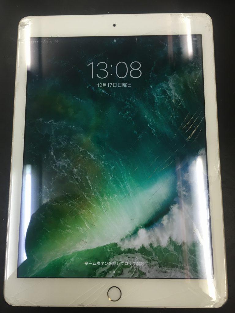 iPad5画面割れ3