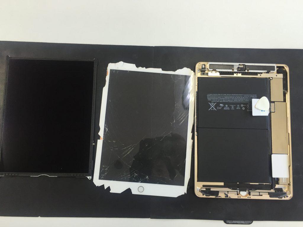 iPad5画面割れ2