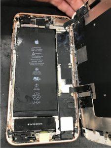 iPhone8Plus水没②