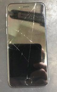 市川市よりiPhone6ガラス交換のお客様