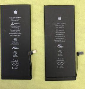 千葉県千葉市中央区よりリペアくん千葉店にiPhone6Plusのバッテリー交換でご来店
