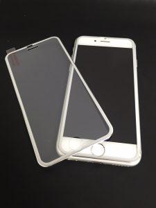 新作iPhone6、6s、7用 全面保護ガラス入荷! 選べる4色!
