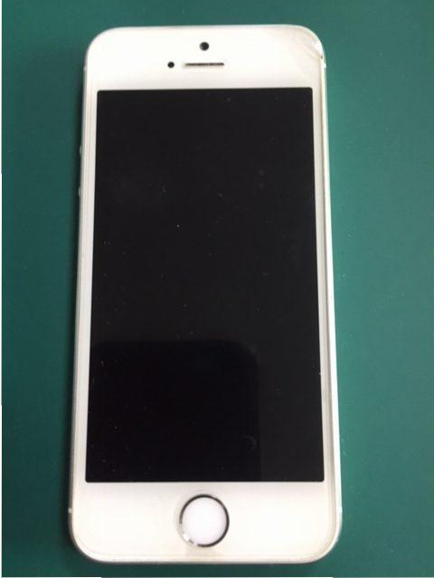 仙台市青葉区からのご来店、iPhone5sのバッテリー交換ですーiPhone修理のリペアくん/宮城仙台店